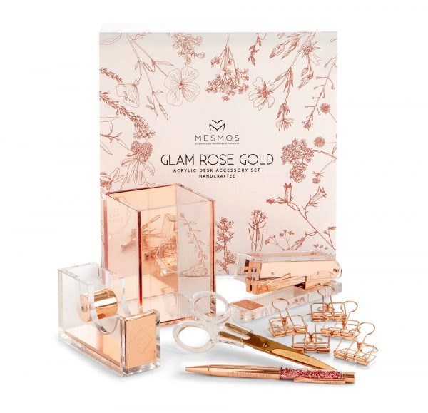 Rose Gold Stationery Set Box