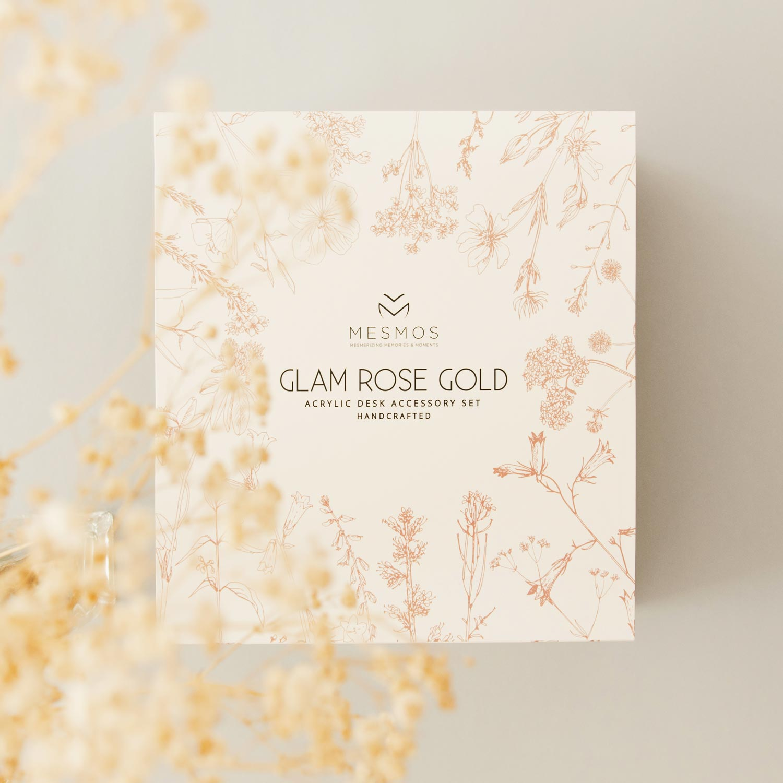 Glam Rose Gold