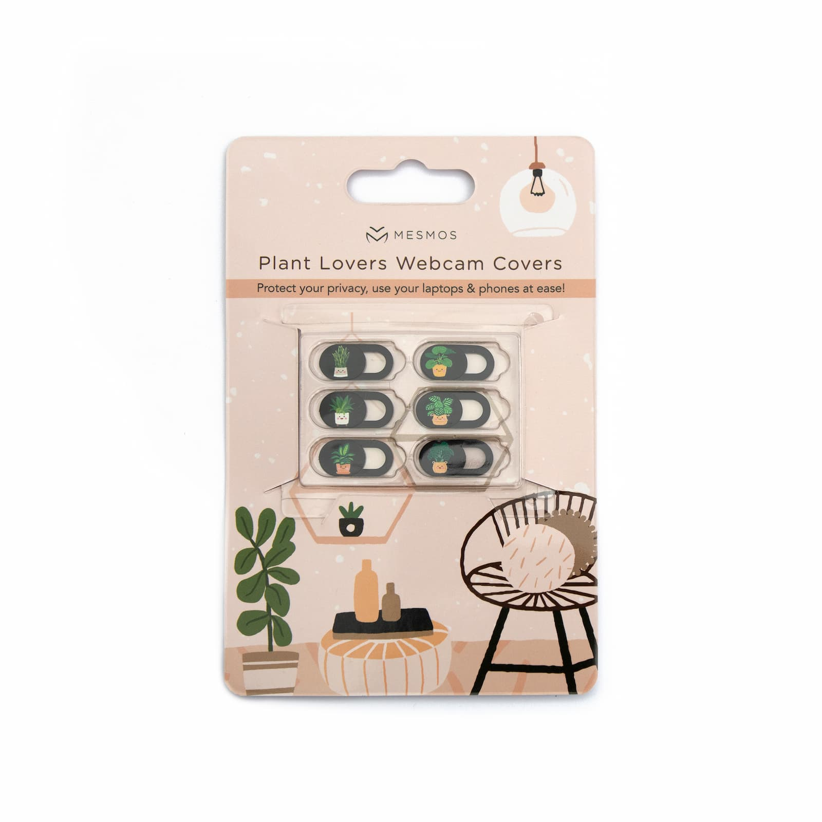 Plant Lovers Webcam Covers